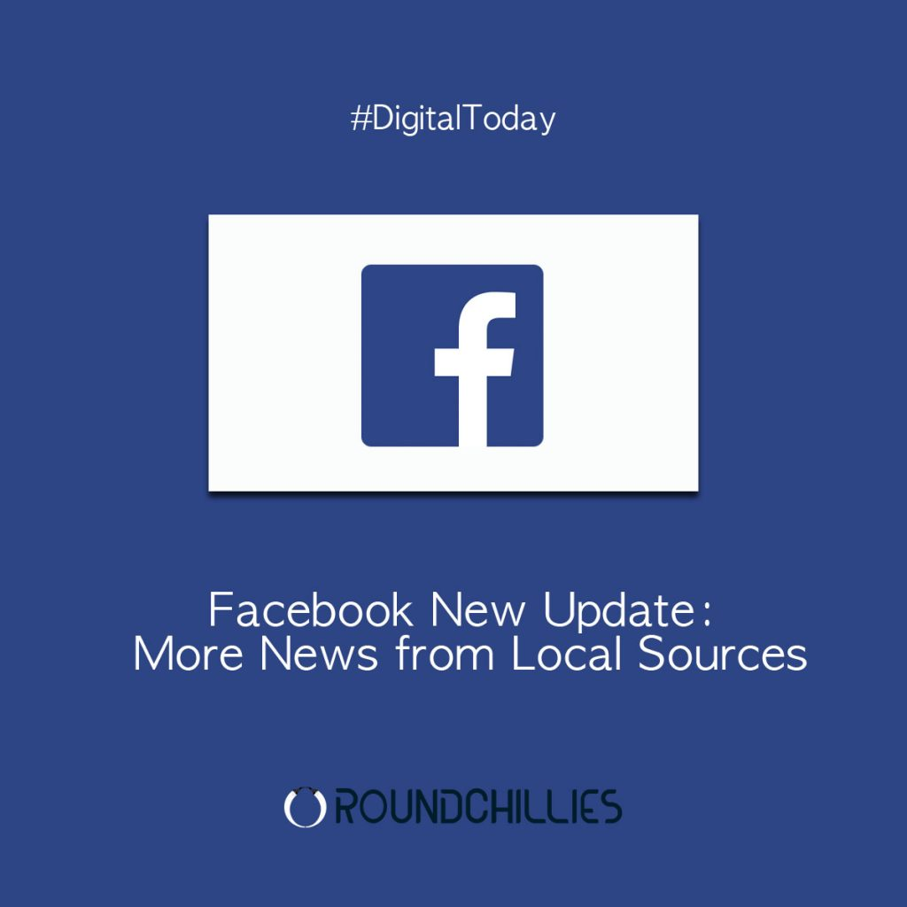 Facebook New Update More News from Local Sources