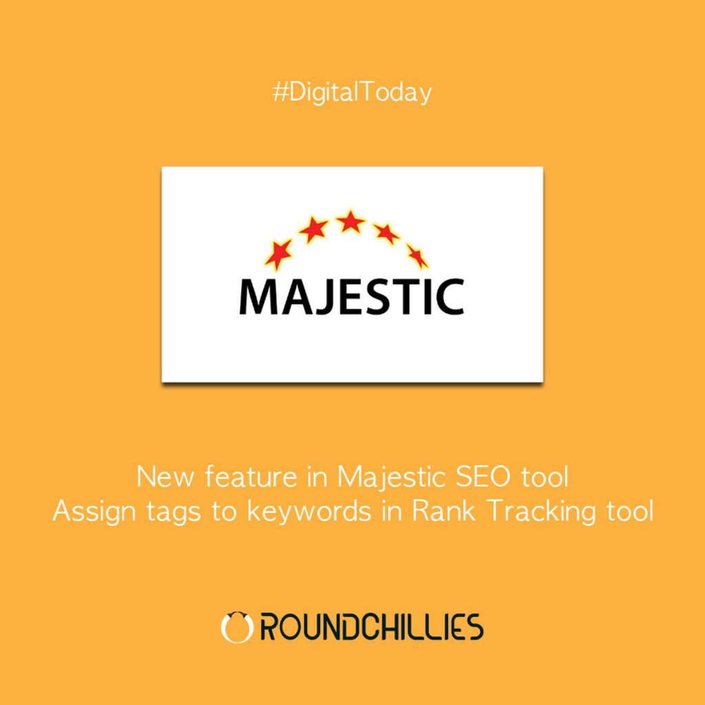New feature in Majestic SEO tool | Assign tags to keywords in Rank Tracking tool