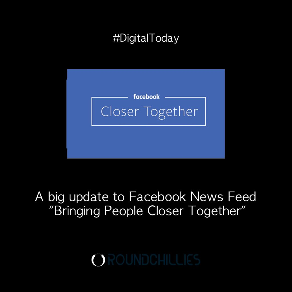 facebook news feed algo update