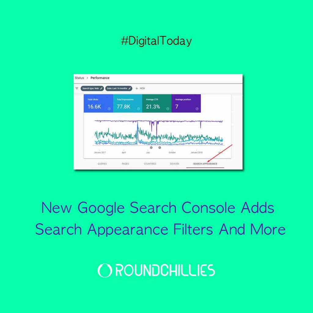 New Google Search Console Adds Search Appearance Filters And More